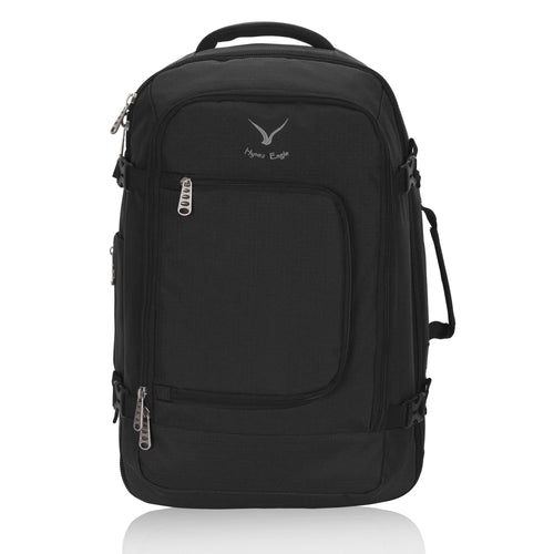 Hynes Eagle 40L Flight Approved Carry on Backpack Black