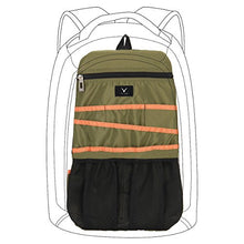 Hynes Eagle Universal Backpack Insert Organizer Travel Bag Slip Gadget Organization Kit Military Green