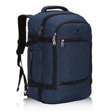 Hynes Eagle 40L Flight Approved Carry on Backpack Blue