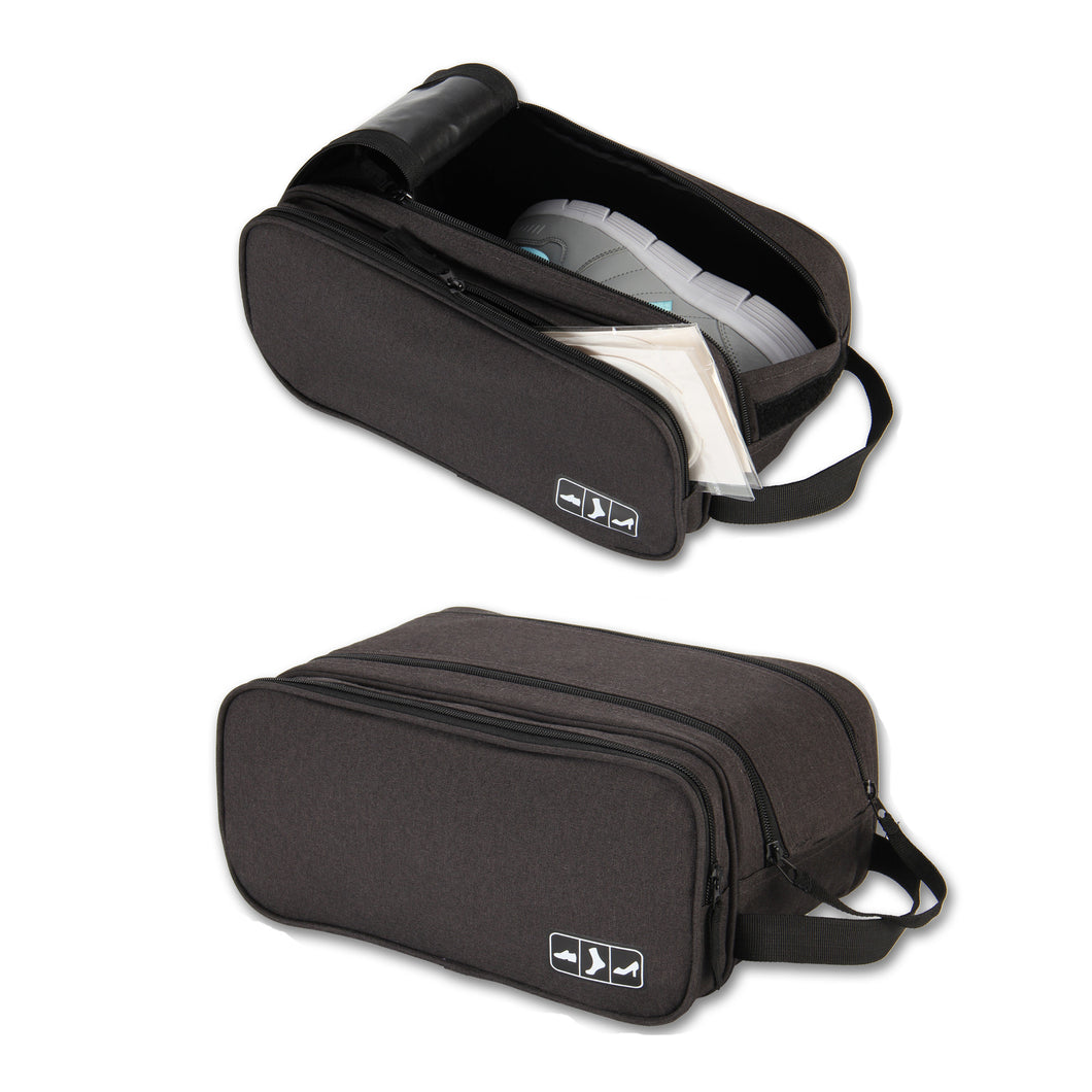 Hynes Eagle Portable Travel Gear Shoe Bags Pouch Grey