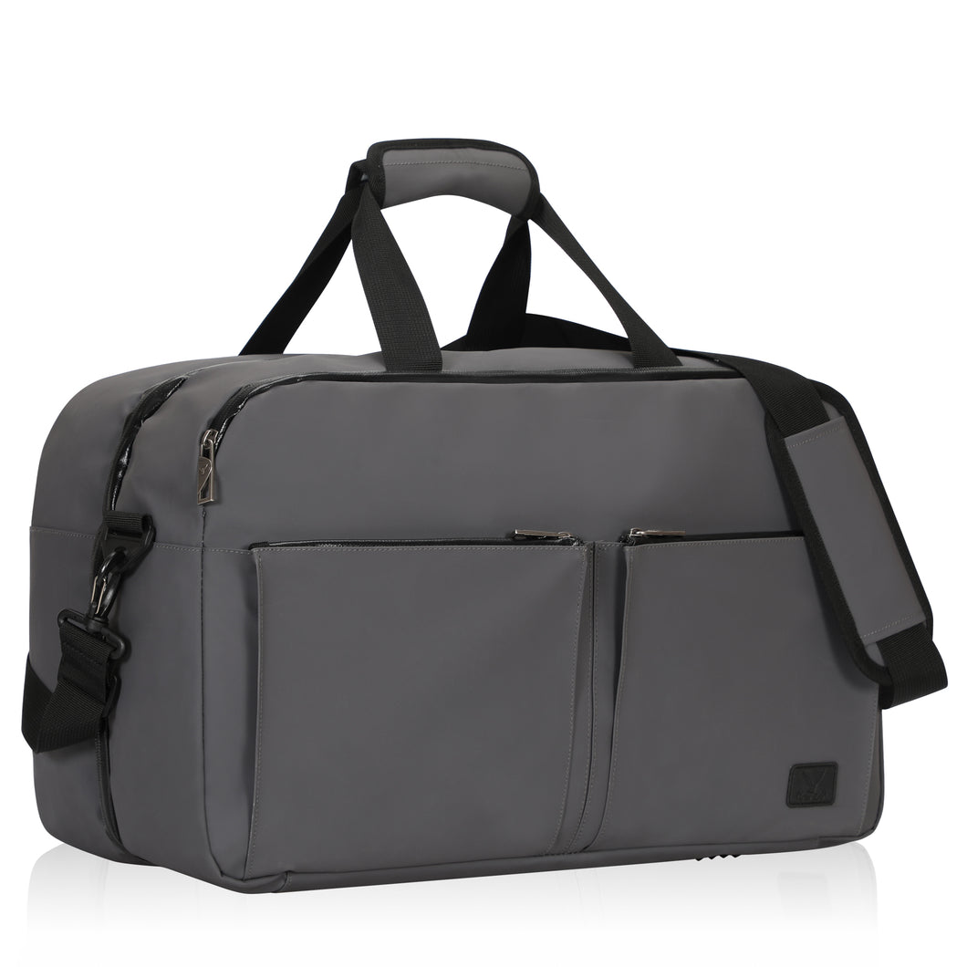 Copy of Hynes Eagle Travel Weekender Bag Duffel Flight Approved Carry on Bag 36L Grey