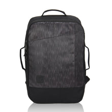 Hynes Eagle 28L Aurora Convertible 19x12x7.5 Flight Approved Carry On Travel Backpack Black