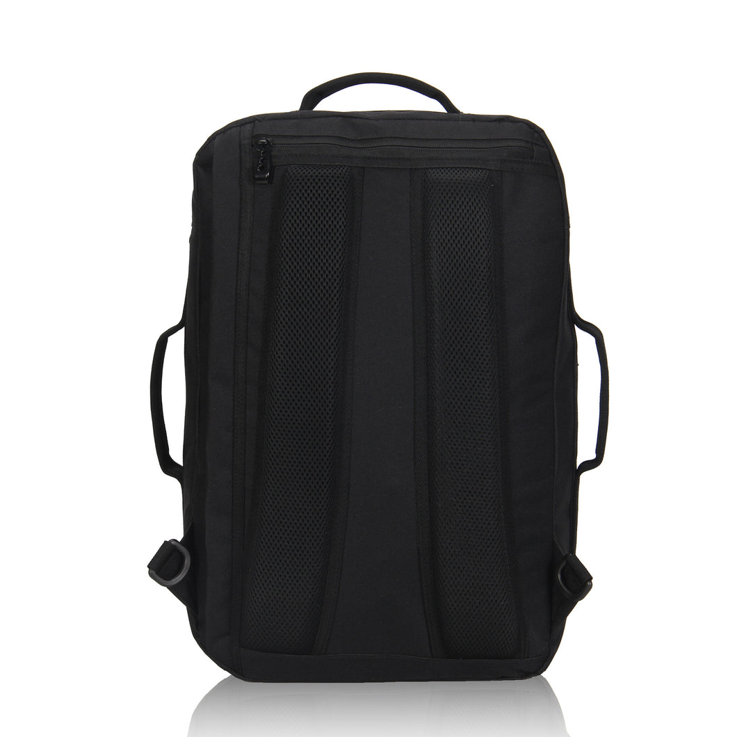... Hynes Eagle 28L Aurora Convertible 19x12x7.5 Flight Approved Carry On Travel  Backpack Black ... eb70e8f441160