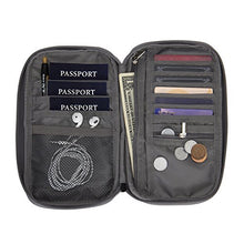 Hynes Eagle Travel Passport Protection Wallet Passport Holder Credit Card Wallet