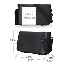 Hynes Eagle Laptop Messenger Bag for 15-inch (Black)