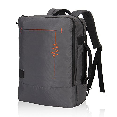 Hynes Eagle Minimalist City Backpack for Up to 15.6 inch Laptop Lightning Grey