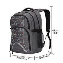 Hynes Eagle Multifunctional Backpack for Laptops up to 17-Inch Grey