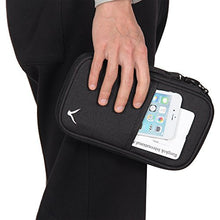 Hynes Eagle Travel Passport Protection Wallet Passport Holder Credit Card Wallet Black