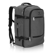 Hynes Eagle 40L Flight Approved Carry on Backpack Grey
