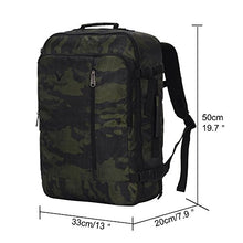 Hynes Eagle 38L Flight Approved Weekender Carry on Backpack Camo