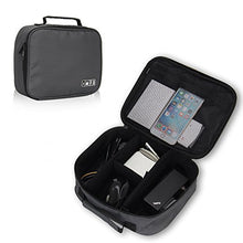 Hynes Eagle Portable Electronic Accessories Organizer Travel Carry Case,
