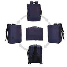 Hynes Eagle Minimalist City Backpack for Up to 15.6 inch Laptop Lightning Navy