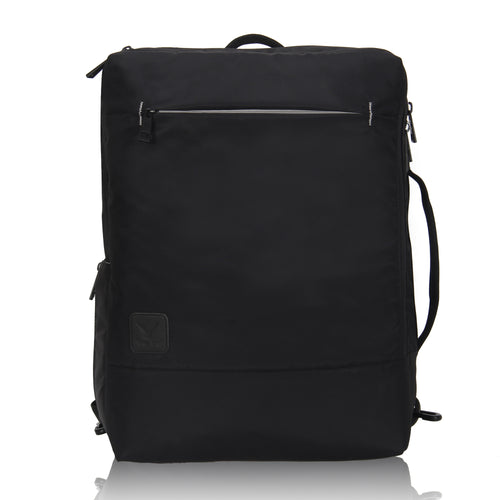Hynes Eagle Minimalist City Backpack for Up to 15.6 inch Laptop Black