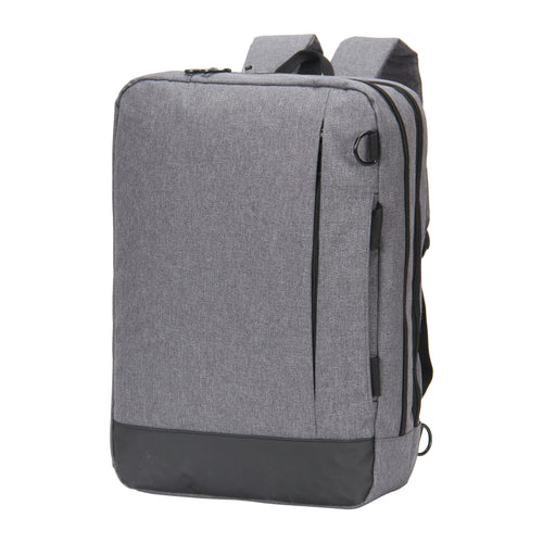 Hynes Eagle 4 in 1 Slim Convertible Laptop Backpack Messenger Bag for 15 inches (Grey)