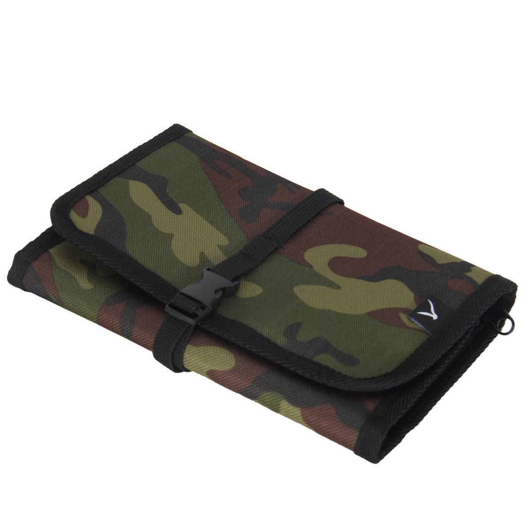 Hynes Eagle Portable Universal Electronics Accessories Travel Organizer Camo
