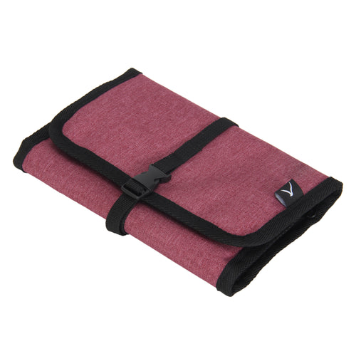 Hynes Eagle Portable Universal Electronics Accessories Travel Organizer RedViolet