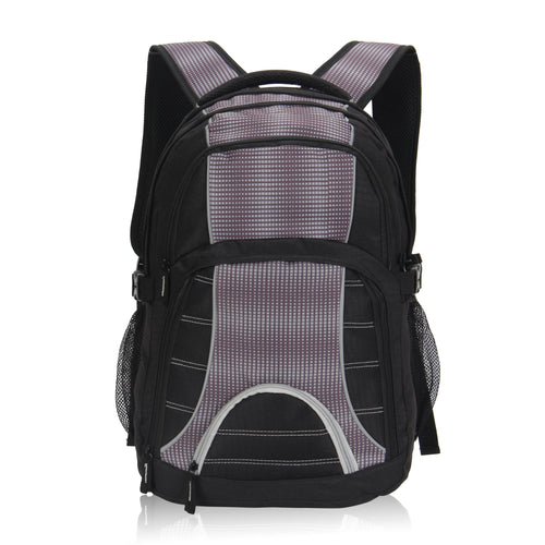 Hynes Eagle Multifunctional Backpack for Laptops up to 17-Inch Black