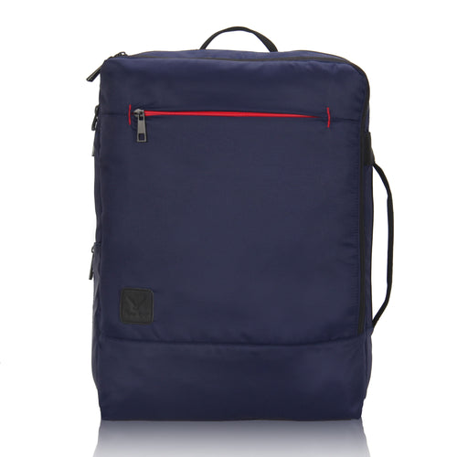 Hynes Eagle Minimalist City Backpack for Up to 15.6 inch Laptop Navy