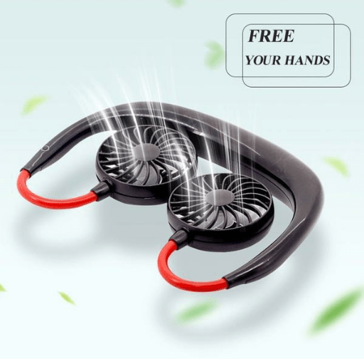 InstaBreeze Rechargeable Neckband Fan