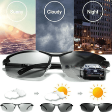 Load image into Gallery viewer, Photochromic Sunglasses with Polarized Lens