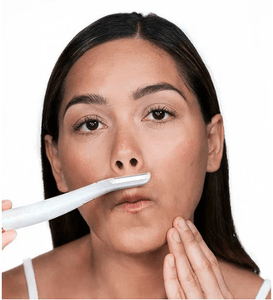 Exfoliating LED Facial Hair Trimmer