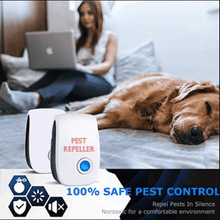 Load image into Gallery viewer, Ultrasonic Pest Repeller