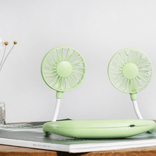 Load image into Gallery viewer, InstaBreeze Rechargeable Neckband Fan