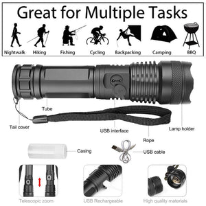 UltraLED XHP P50 Most Powerful Flashlight