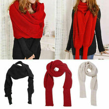 Load image into Gallery viewer, Amazing Scarf & Sleeve Shawl