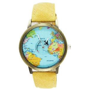Time Flies World Traveler Watch