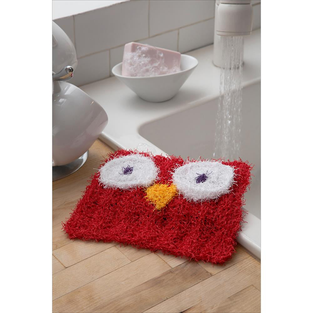 Free Leaflet - Red Heart Scrubby Yarn