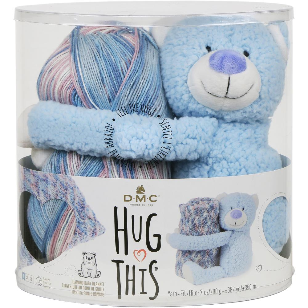DMC HUG THIS YARN-TEDDY