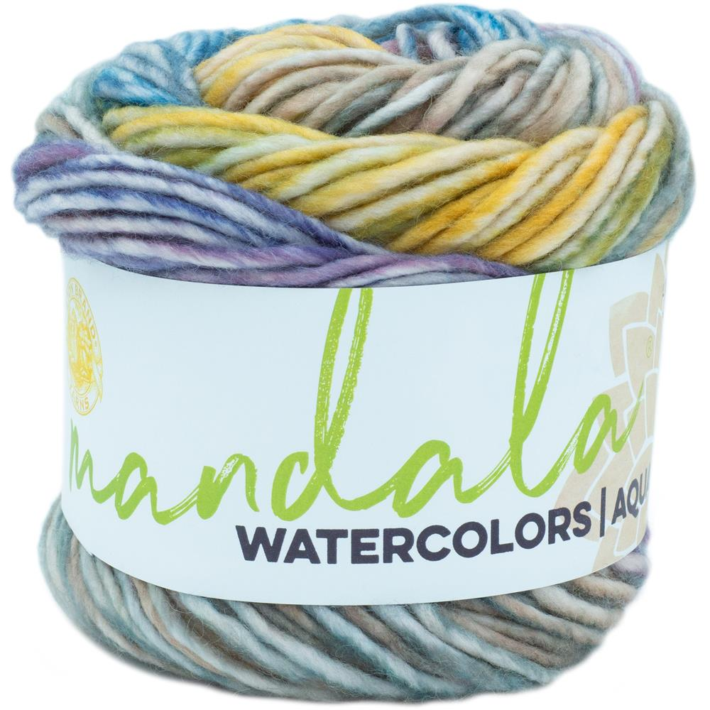 Lion Brand Mandala Watercolors Yarn / Wild Pansy