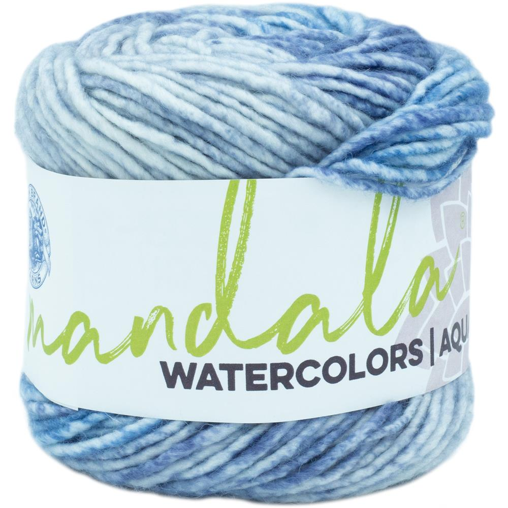 Lion Brand Mandala Watercolors Yarn / Skyway
