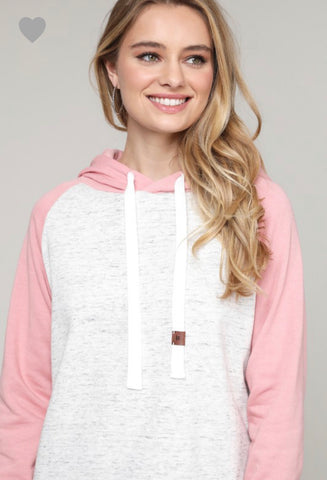Amber Hoodie-Champagne Pink -ALL SIZES