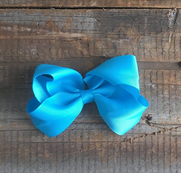 "4"" Ribbon Bow-MULTIPLE COLORS"