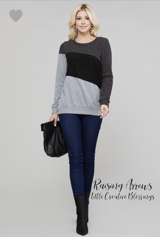 The Shay sweater -Plus size