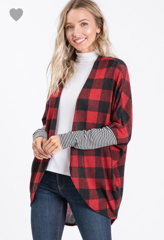 Adaline- Red Plaid