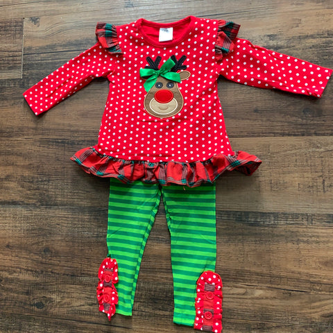 Rudolph Matching Sibling set-Outfit