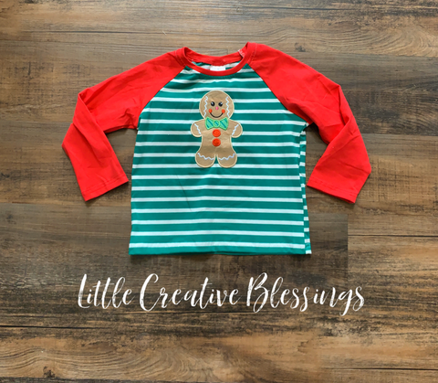 Gingerbread Man Raglan