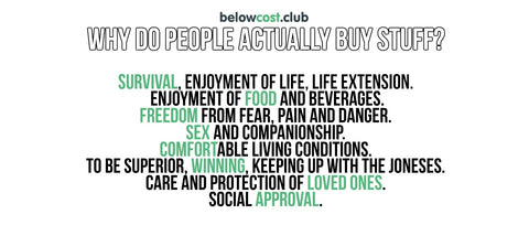 Real Reasons Why People Buy - Life Force 8