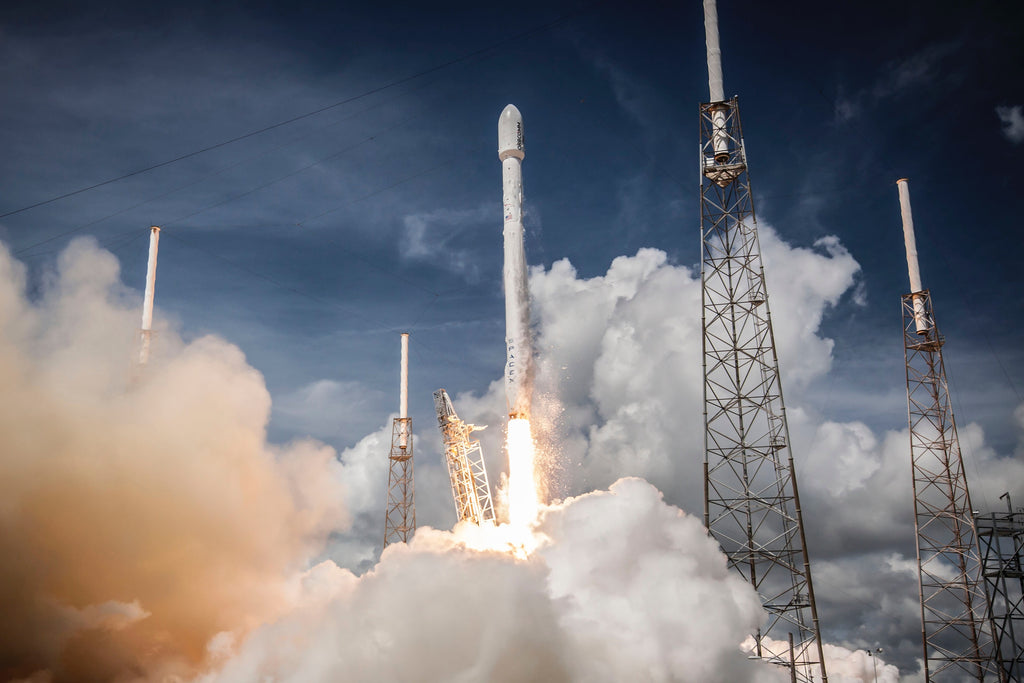 SpaceX rocket launch escape velocity for Amazon sales