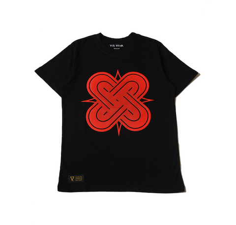 Eternal Knot Black & Red T-Shirt