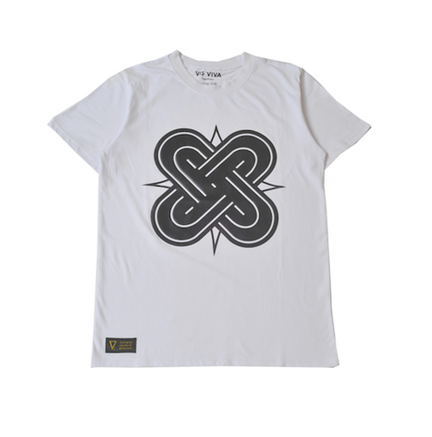 Eternal Knot White & Black T-Shirt
