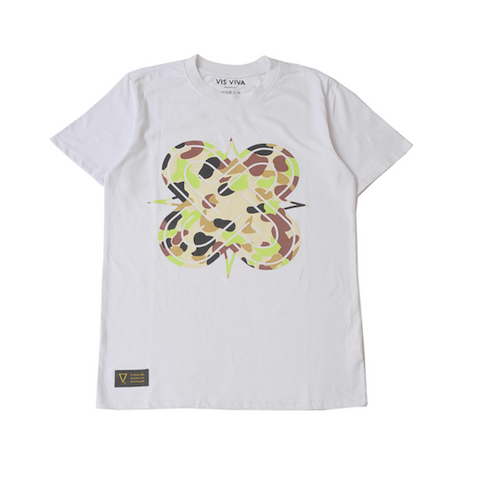 Eternal Knot White & Camo T-Shirt