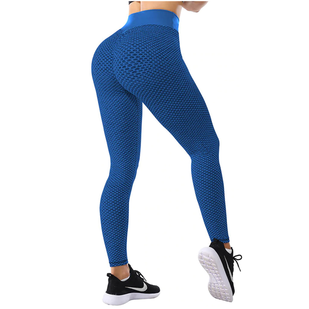 Tik tok leggings, blue, famous leggings, ig reels leggings