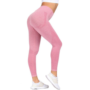 Essential Seamless Contour Leggings - Pink
