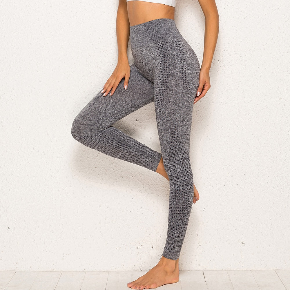 Essential Seamless Contour Leggings - Grey