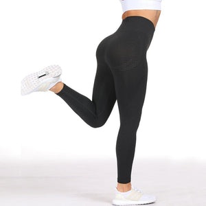 Essential Seamless Contour Leggings - Black