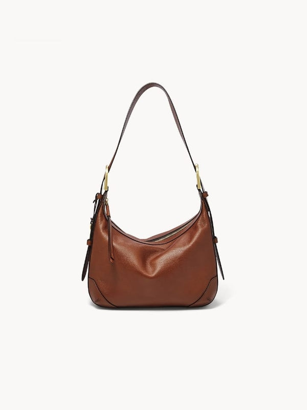 Fossil Zb7888200 Hannah Hobo Brown